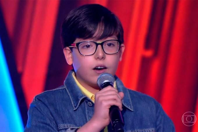 Matheus Loubet sofreu bullying antes do 'The Voice Kids' (Foto: Reprodução/TV Globo)